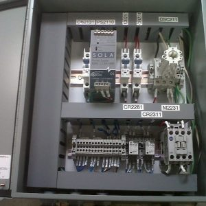 Hydraulic Lift Control AES Control Panel