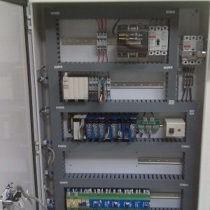 Robot Cell Integration AES Control Panel