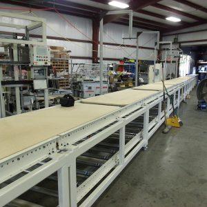 Bumper Pallet Conveyor